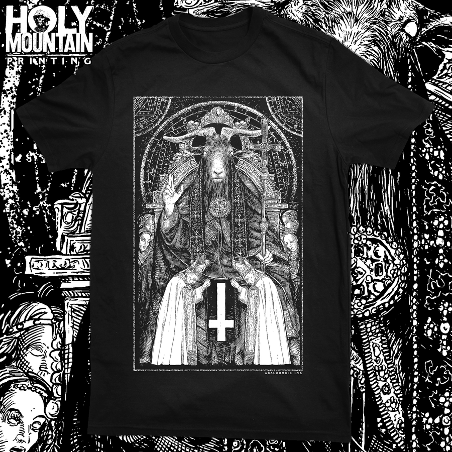 "ABACROMBIE INK ""UNHOLY HORNED ONE"" SHIRT"