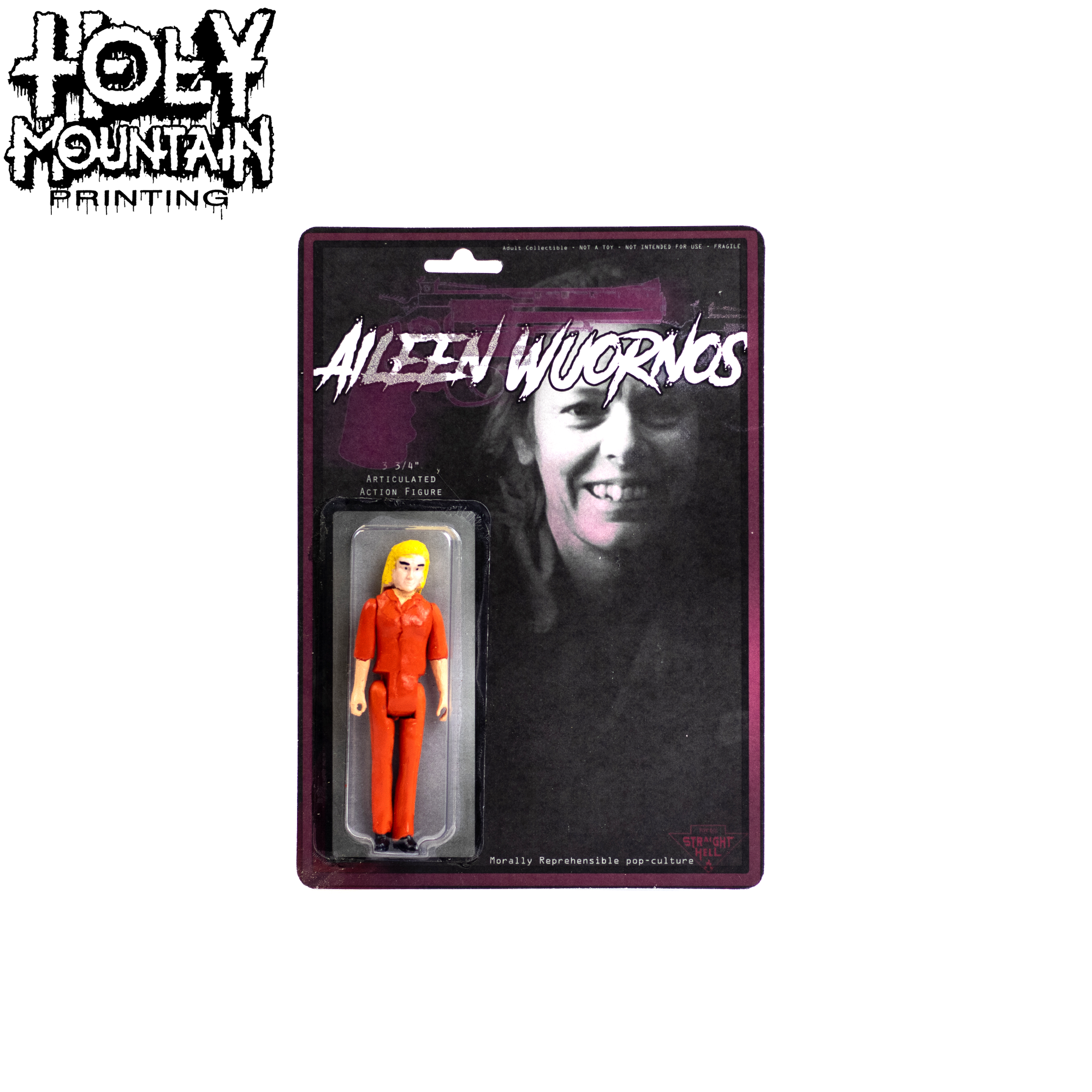 STRAIGHT TO HELL TOY CO - Aileen Wuornos
