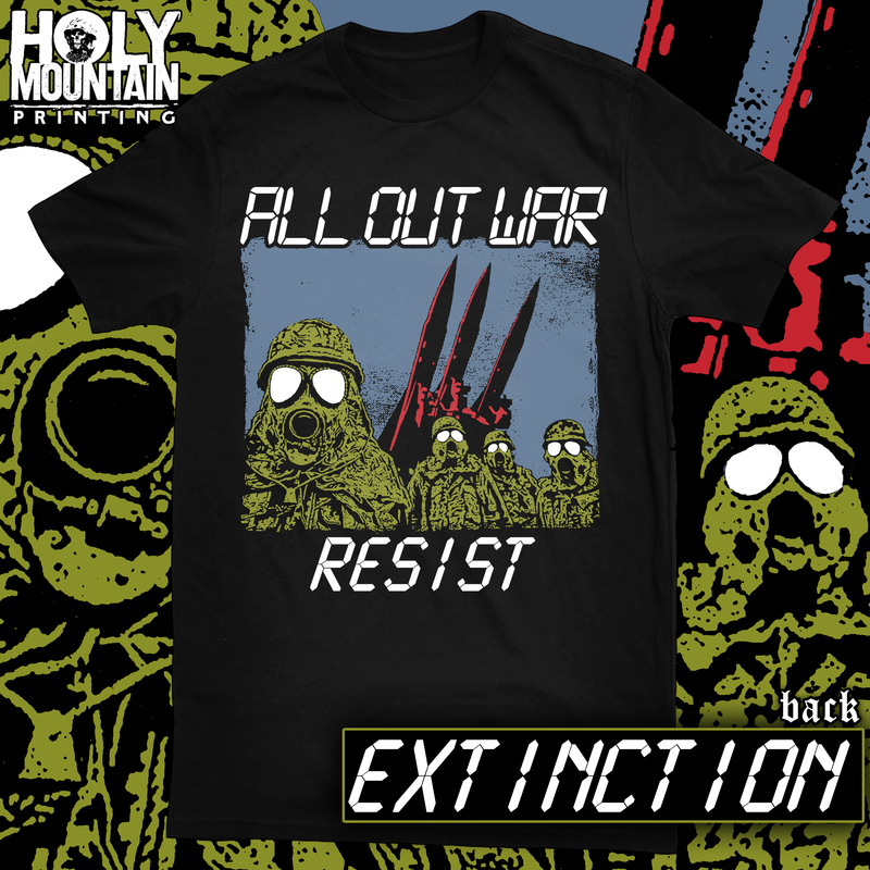 "ALL OUT WAR ""EXTINCTION"" SHIRT"