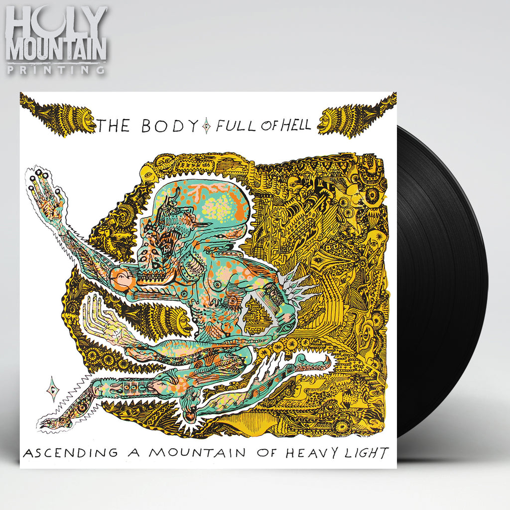 "THE BODY / FULL OF HELL ""ASCENDING A MOUNTAIN OF HEAVY LIGHT"" VINYL"