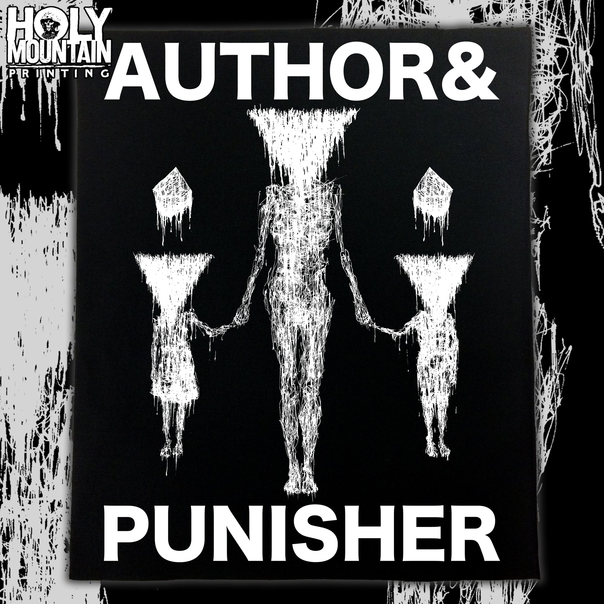 AUTHOR & PUNISHER BACK PATCH