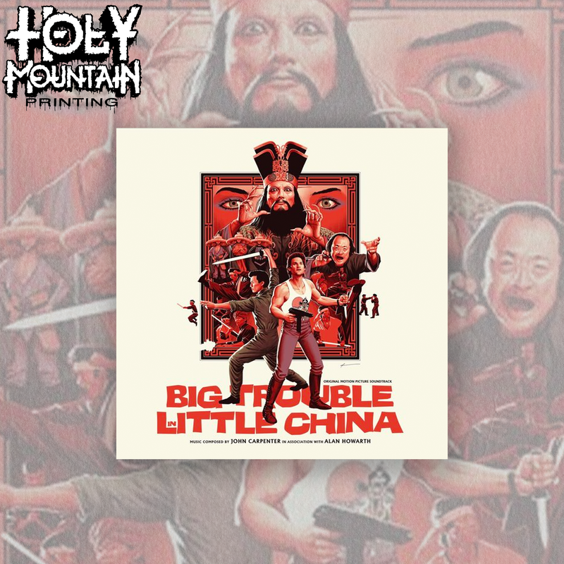 Big Trouble In Little China - Original Motion Picture Soundtrack - Vinyl Record