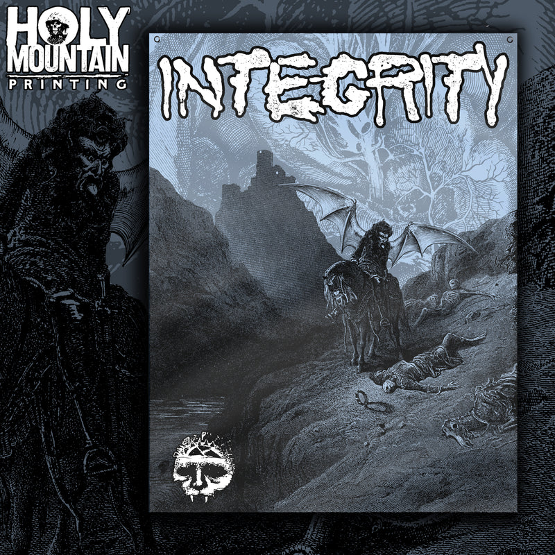 "INTEGRITY ""HOWLING, FOR THE NIGHTMARE SHALL CONSUME"" FLAG"
