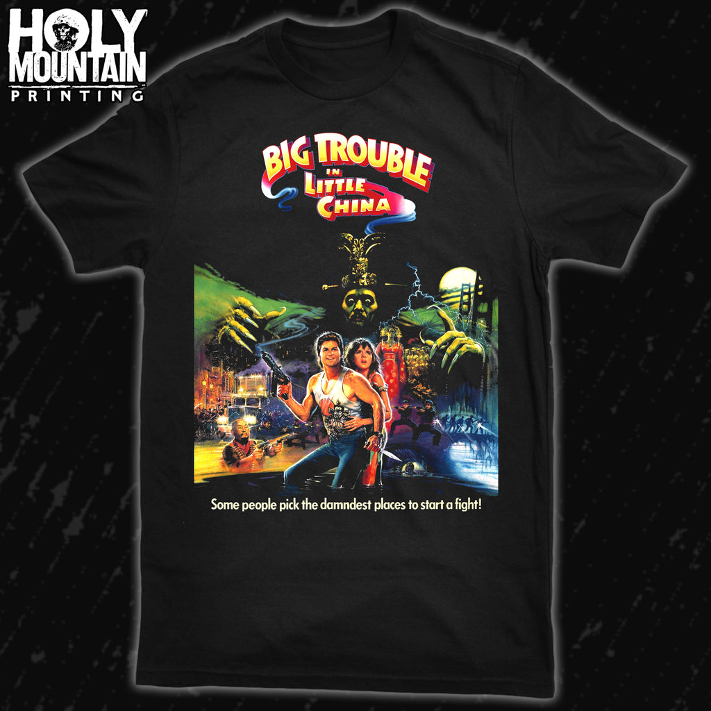 BIG TROUBLE IN LITTLE CHINA SHIRT
