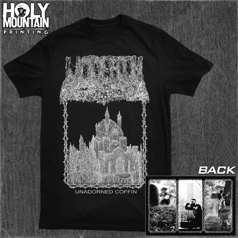 "UNDEATH ""UNADORNED COFFIN"" BLACK SHIRT"