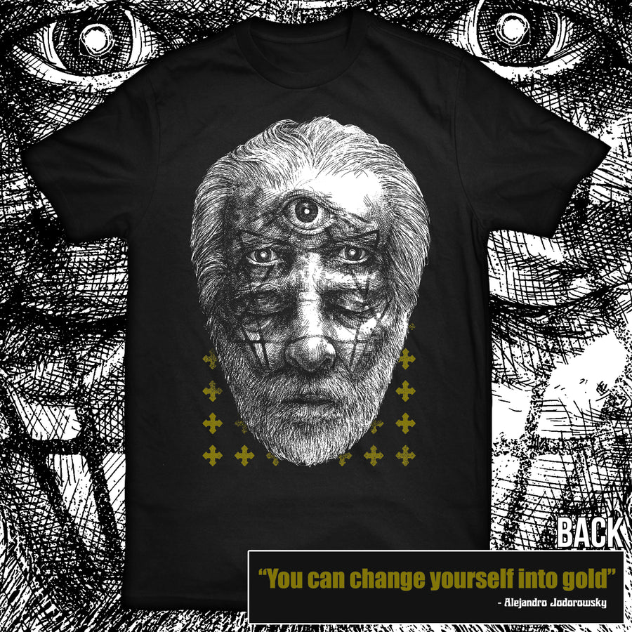 """CHANGE YOURSELF INTO GOLD"" SHIRT"