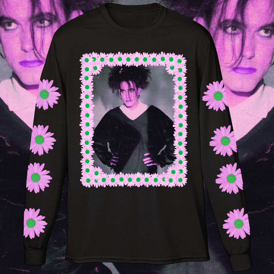 A CHAIN OF FLOWERS LONG SLEEVE SHIRT