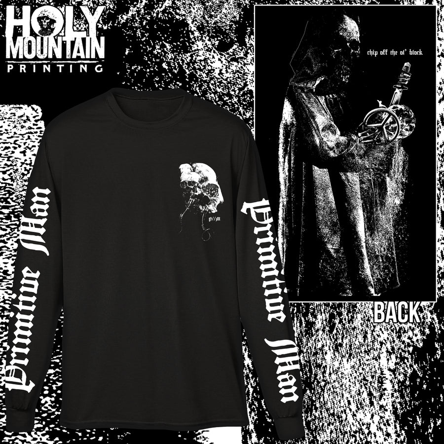 "PRIMITIVE MAN ""CHIP OFF THE OL' BLOCK"" LONG SLEEVE"