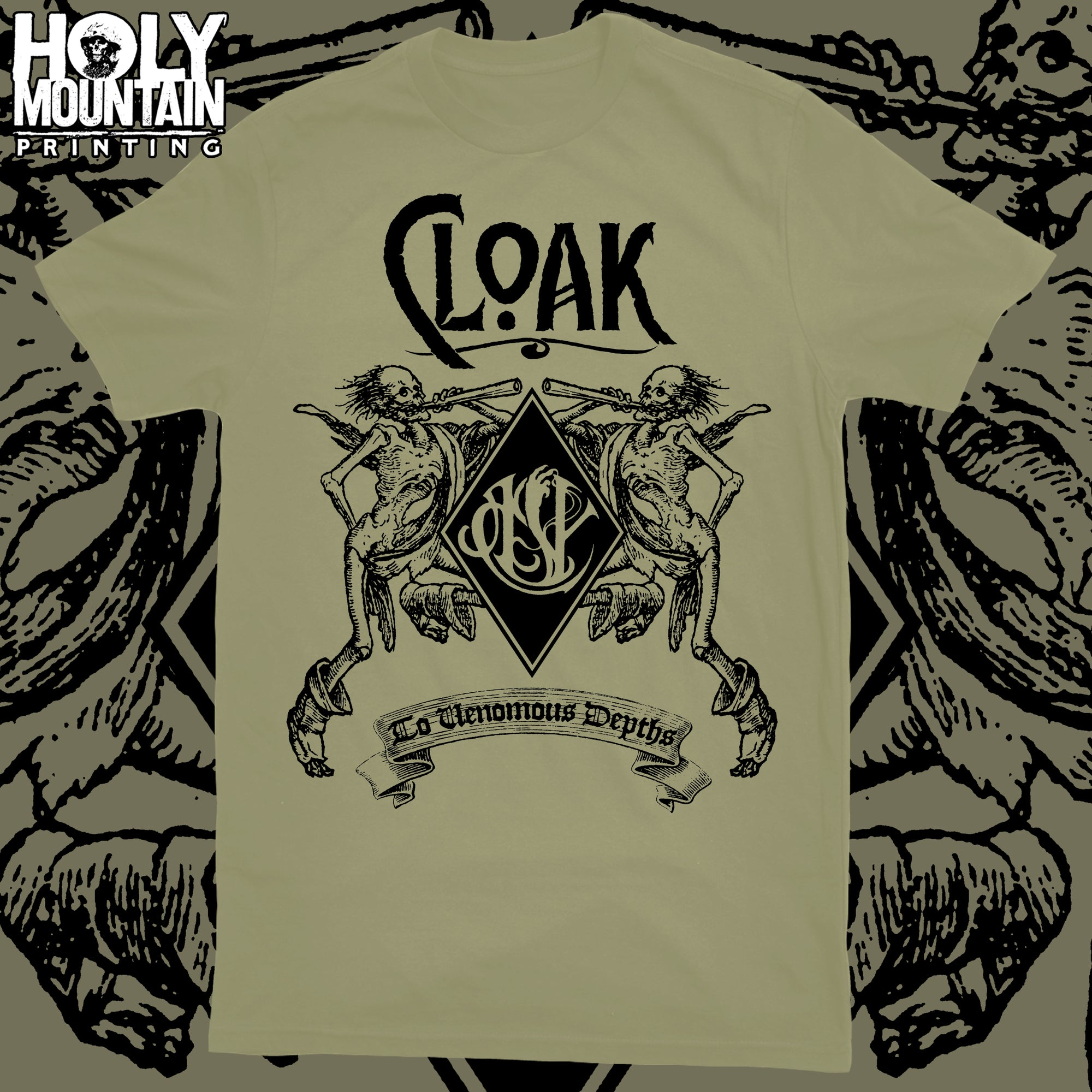 "CLOAK ""SKELETON"" NATURAL SHIRT"