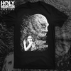 "ABACROMBIE INK ""CREATURE FROM THE BLACK LAGOON WHITE PRINT"" SHIRT"