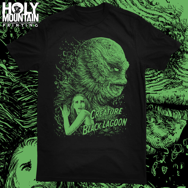 "ABACROMBIE INK ""CREATURE FROM THE BLACK LAGOON"" SHIRT"