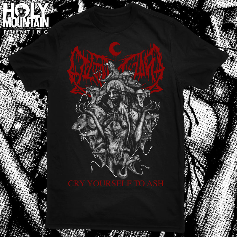 "LEVIATHAN ""CRY YOURSELF TO ASH"" SHIRT"