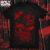 "VERMIN WOMB ""CEMETERY"" BLACK SHIRT"