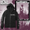 "DAMNATION AD ""NO MORE DREAMS"" ZIP UP SWEATSHIRT"