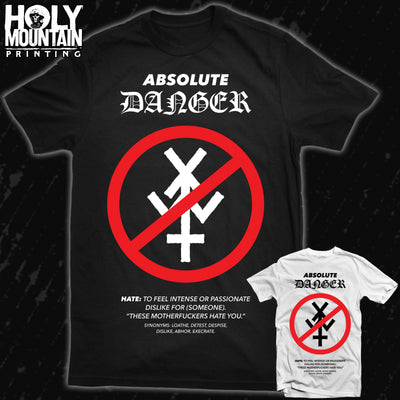 "YOUNG AND IN THE WAY ""ABSOLUTE DANGER"" SHIRT"