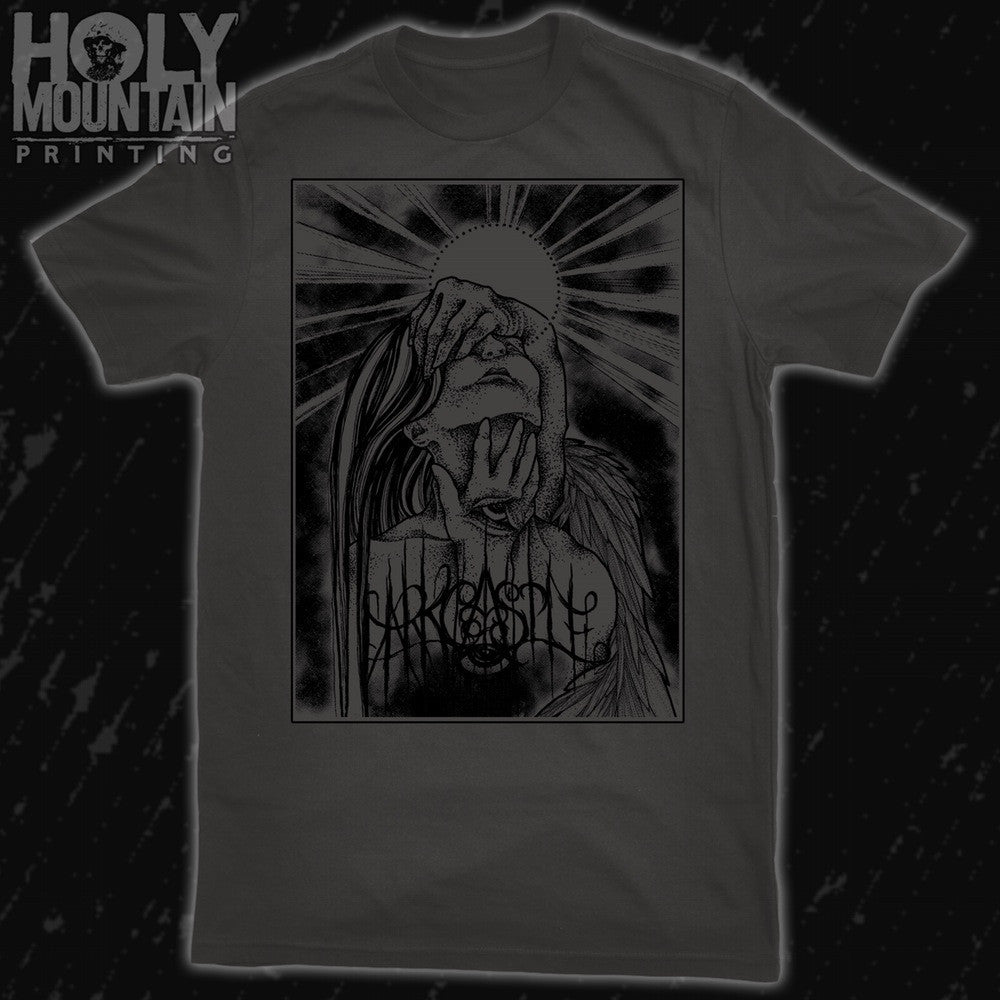 "DARK CASTLE ""STARE INTO ABSENCE"" GREY SHIRT"