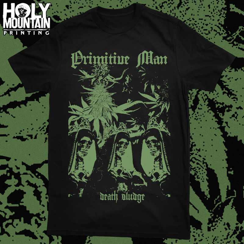 "PRIMITIVE MAN ""DEATH SLUDGE"" SHIRT"
