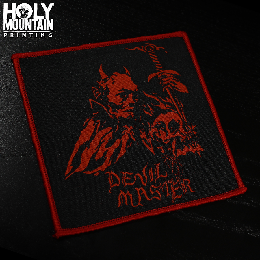 DEVIL MASTER WOVEN PATCH