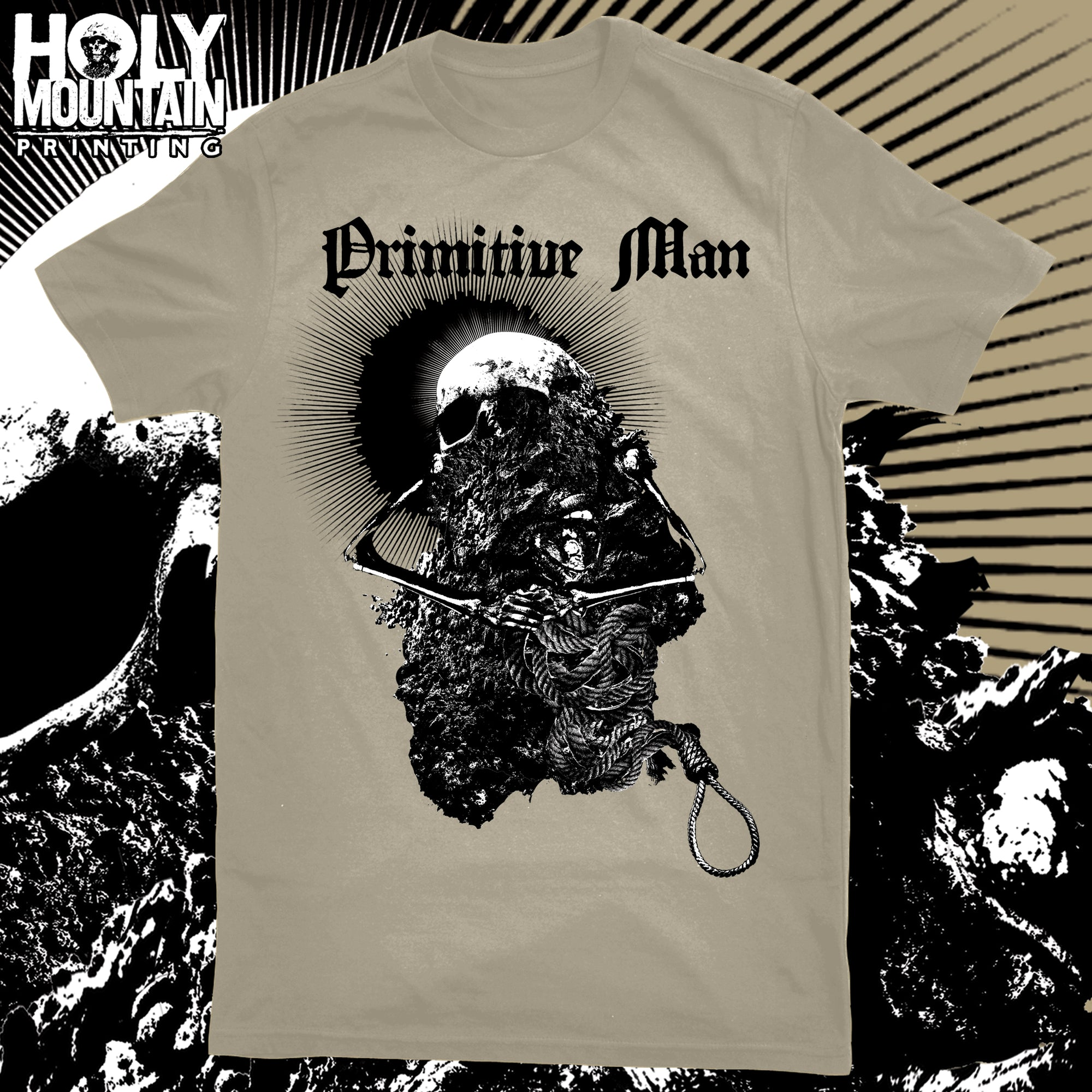 "PRIMITIVE MAN ""DIRT NOOSE"" SHIRT"