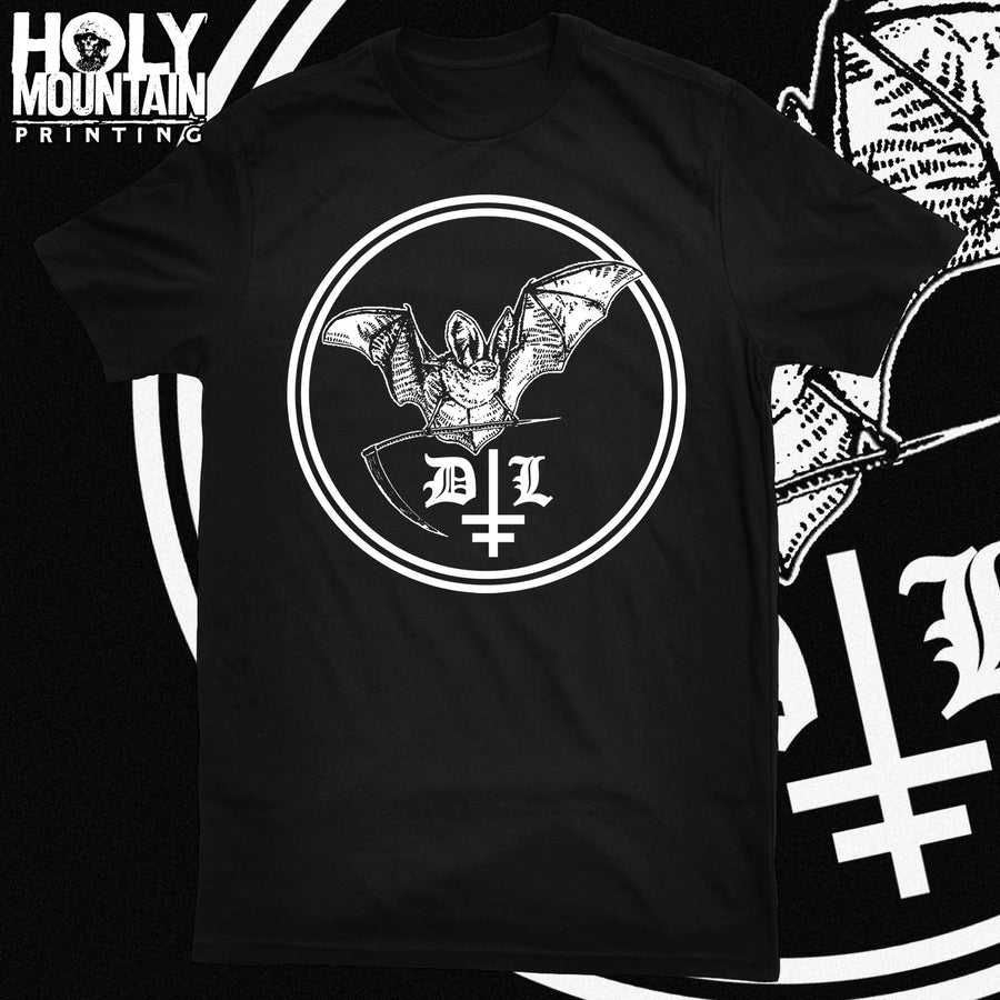 "DROWNING THE LIGHT ""BAT SIGIL"" SHIRT"