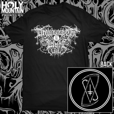 "DROWNING THE LIGHT ""LOGO"" BLACK SHIRT"