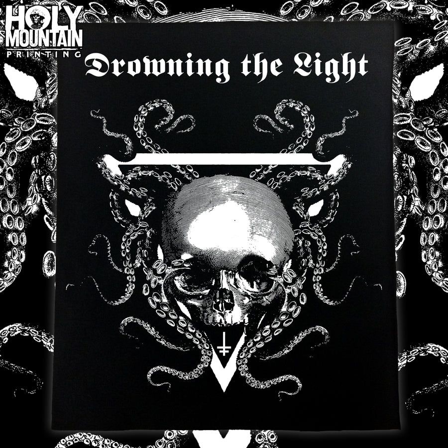 "DROWNING THE LIGHT ""SIGIL"" BACKPATCH"