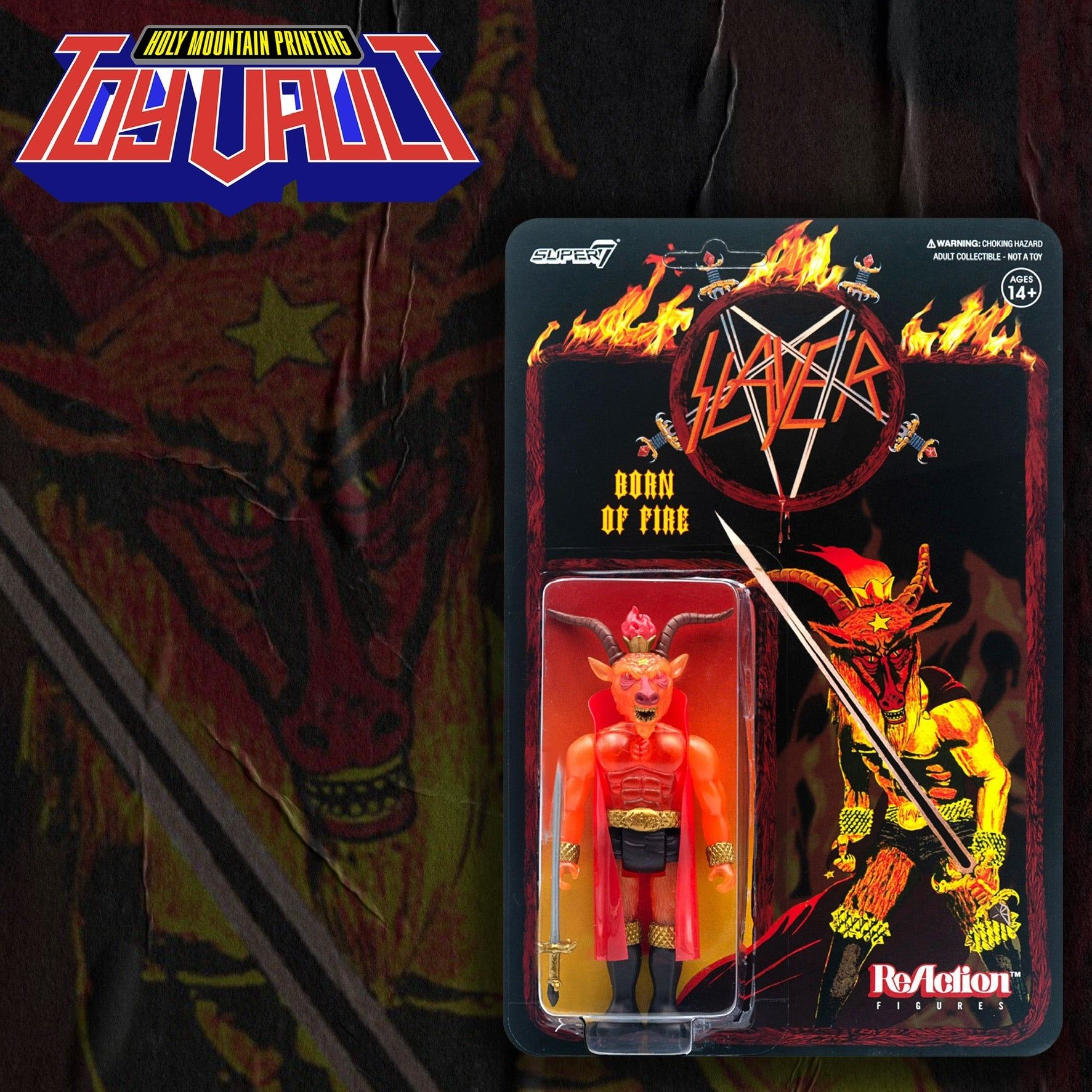 SUPER7 - SLAYER MINOTAUR REACTION - BORN OF FIRE