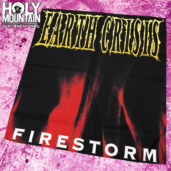 "EARTH CRISIS ""FIRESTORM"" FLAG"