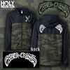 EARTH CRISIS CAMO COACHES JACKET