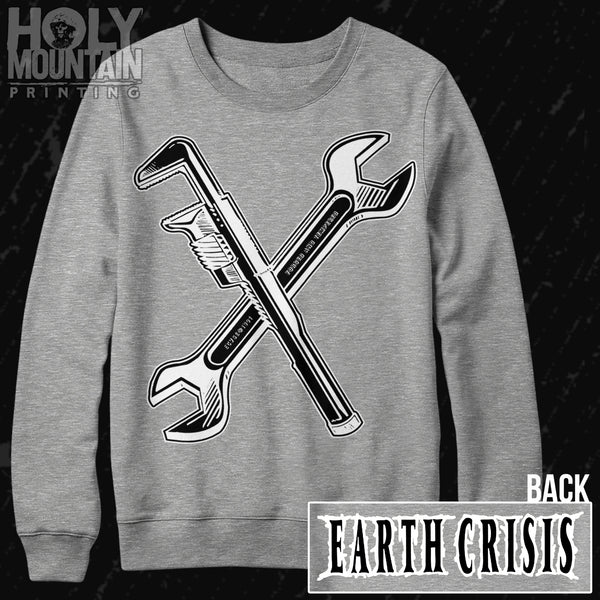 "EARTH CRISIS ""WRENCHES"" CREW NECK SWEATSHIRT"