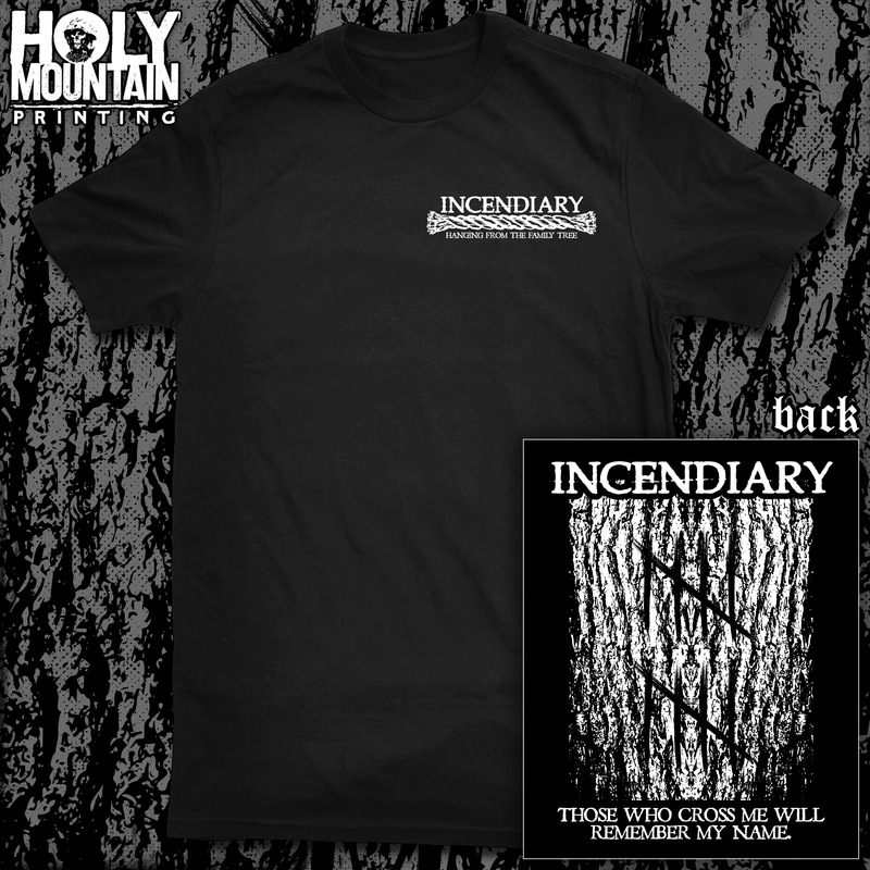 "INCENDIARY ""FAMILY TREE"" SHIRT"
