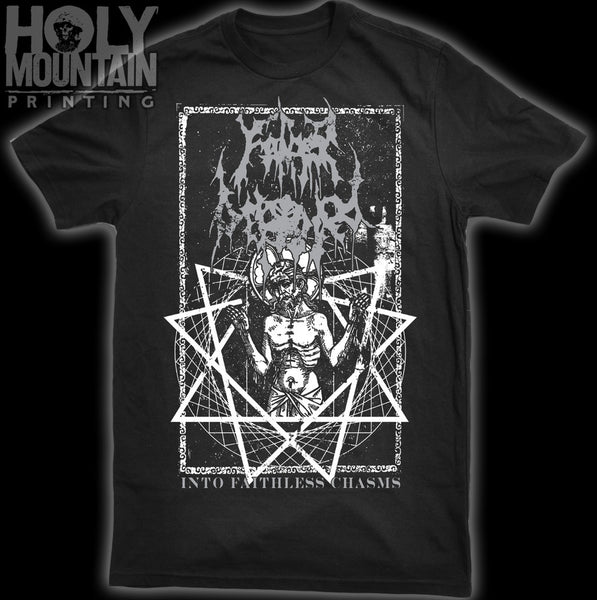 "FATHER BEFOULED ""INTO FAITHLESS CHASMS"" SHIRT"
