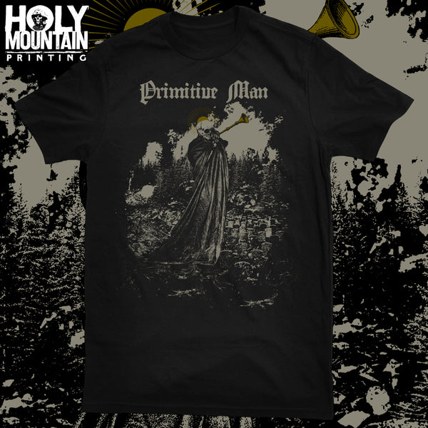 "PRIMITIVE MAN ""FIRE AND PESTILENCE"" SHIRT"