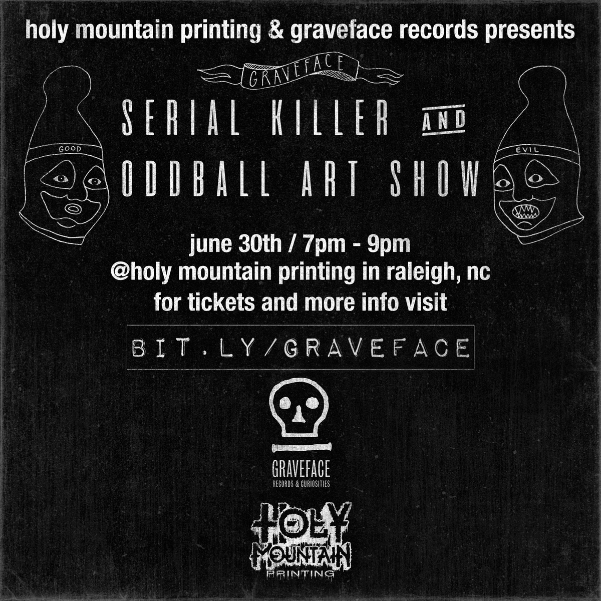 Admission for Graveface Serial Killer and Oddball Art Show