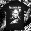 "ABACROMBIE INK ""FRANKENSTEIN GLOW IN THE DARK"" SHIRT"