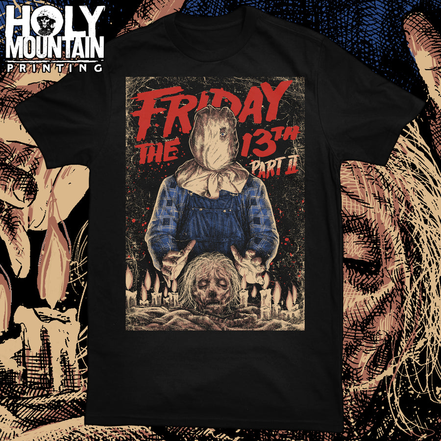 FRIDAY THE 13th PART 2 SHIRT