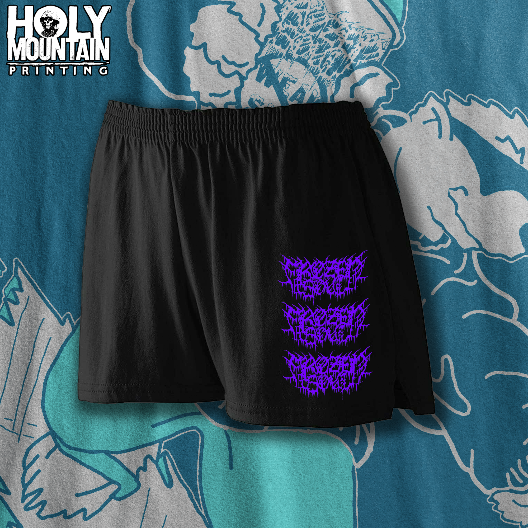 FROZEN SOUL LADIES TRIM FIT TRAINING SHORTS