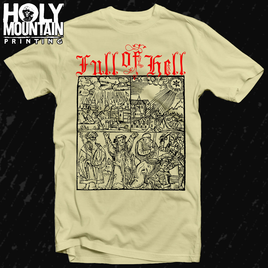 "FULL OF HELL ""FALL OF EARTH"" SHIRT"