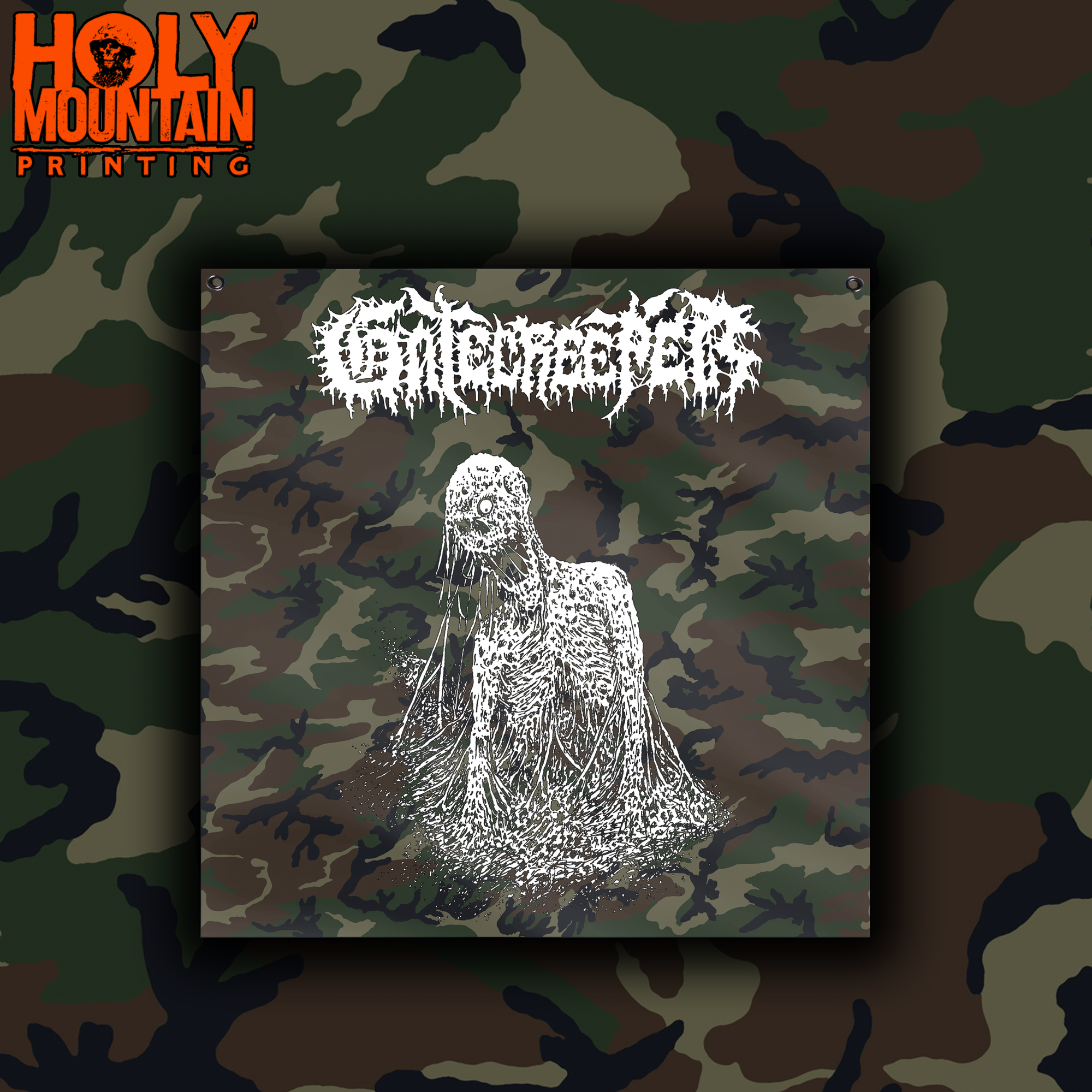 "GATECREEPER ""CAMO"" FLAG"