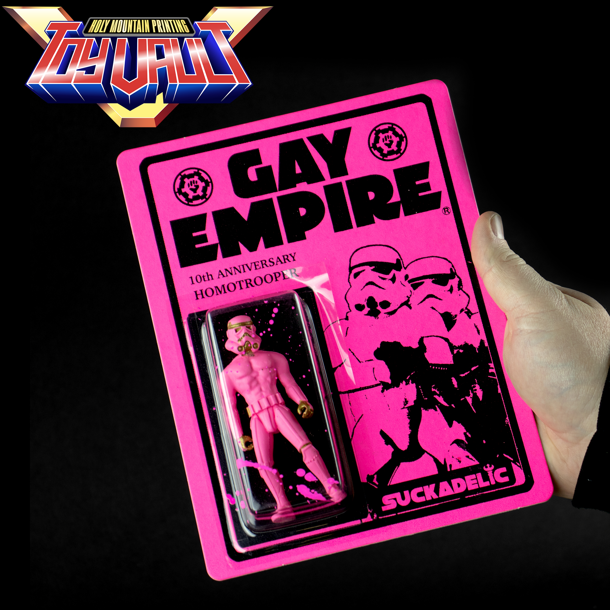 Gay Empire 10th Anniversary Edition Resin Action Figure by the Sucklord - Designer Toy