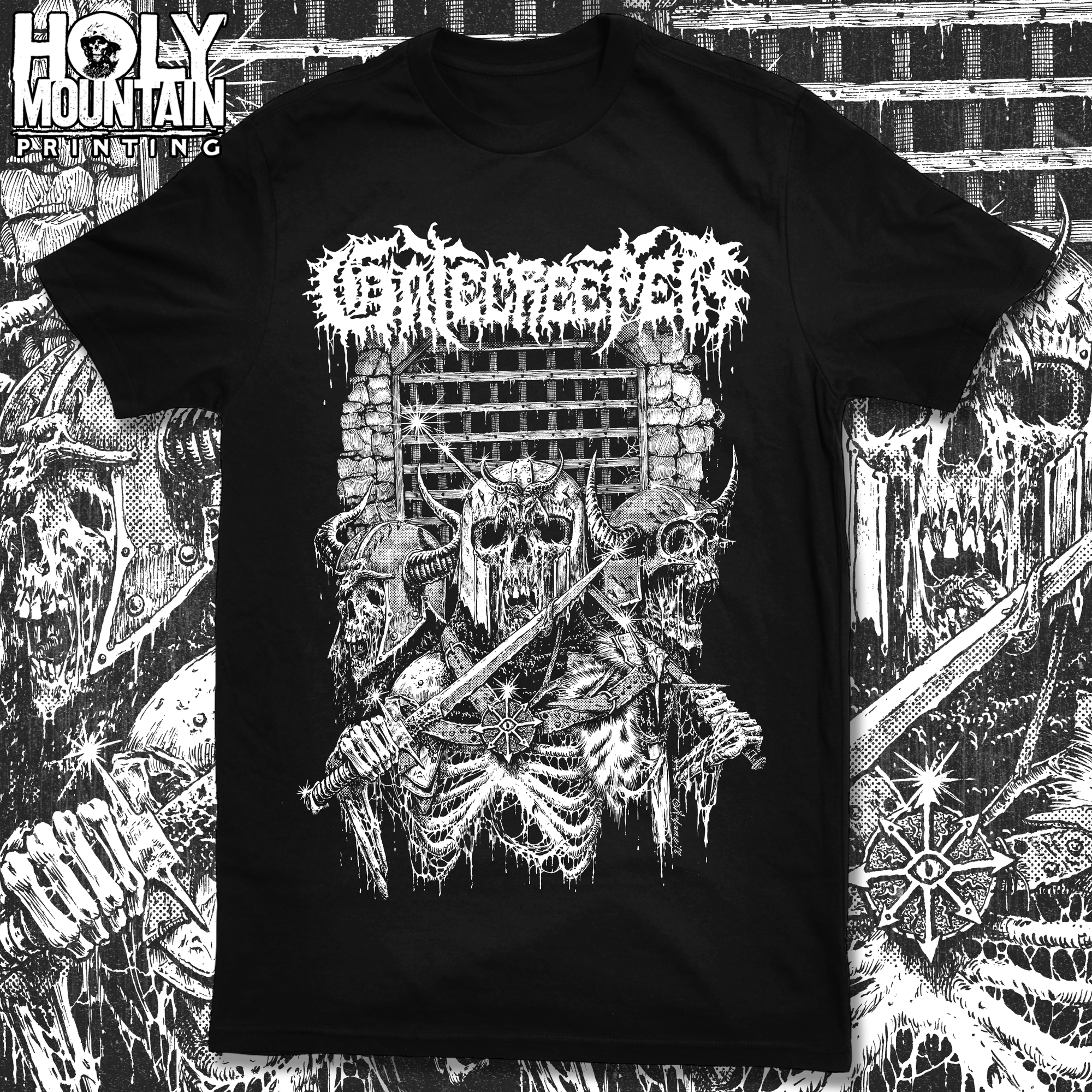 "GATECREEPER ""GATE GUARDS"" SHIRT"