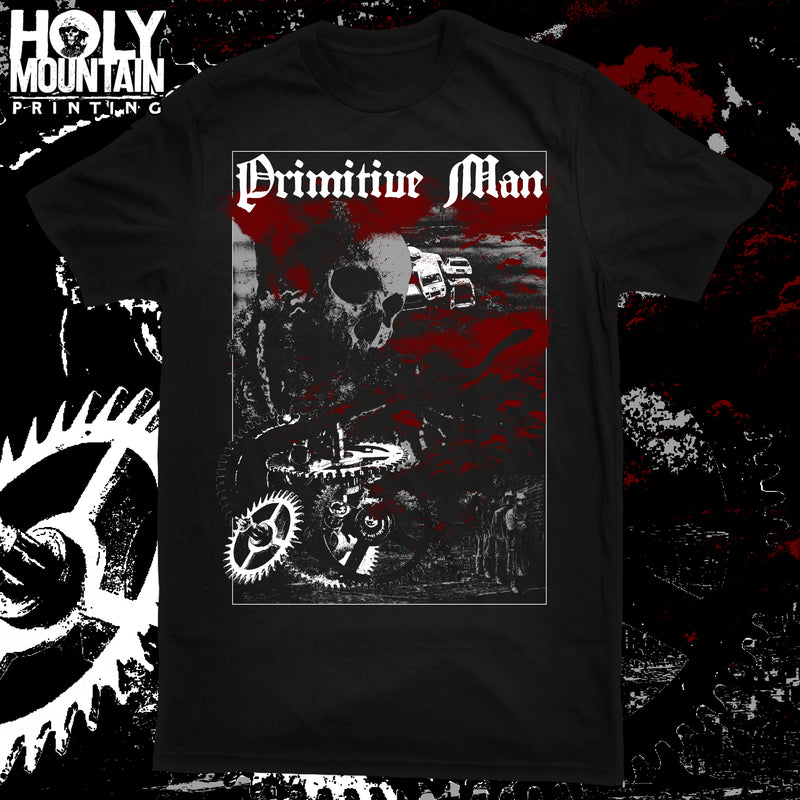 "PRIMITIVE MAN ""GEARS"" SHIRT"