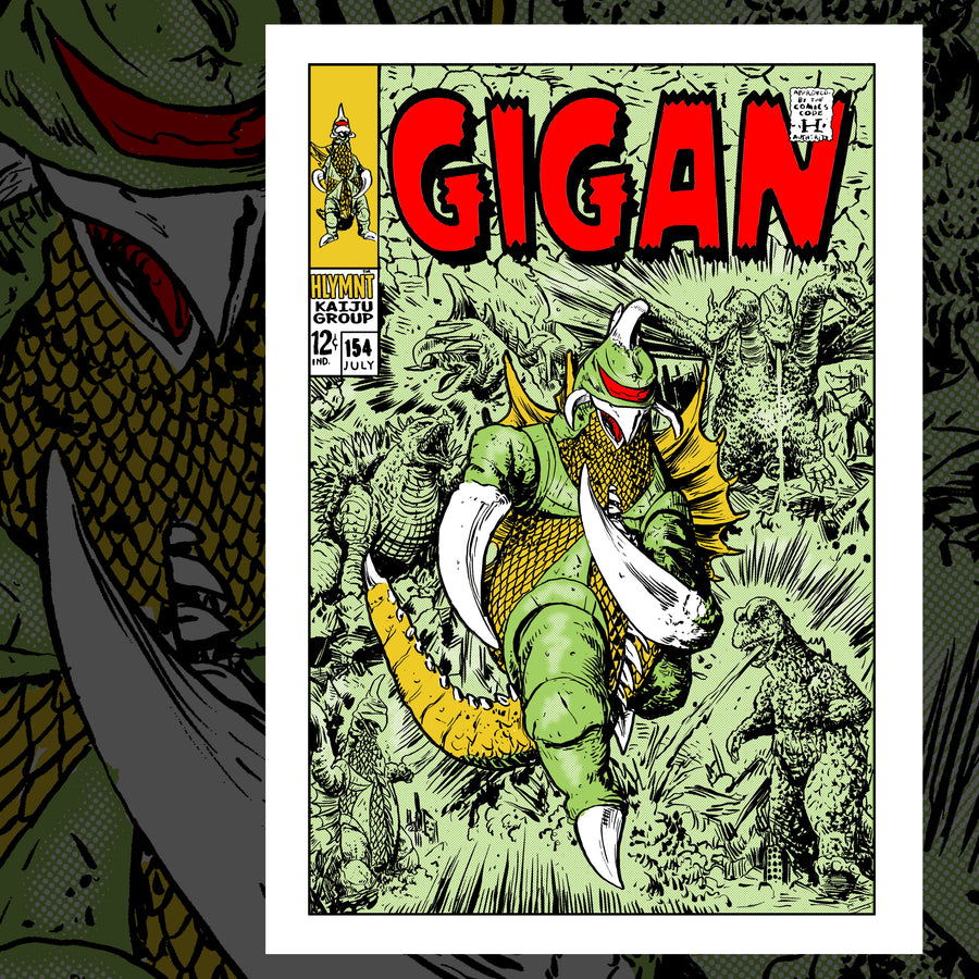 THE MIGHTY GIGAN POSTER