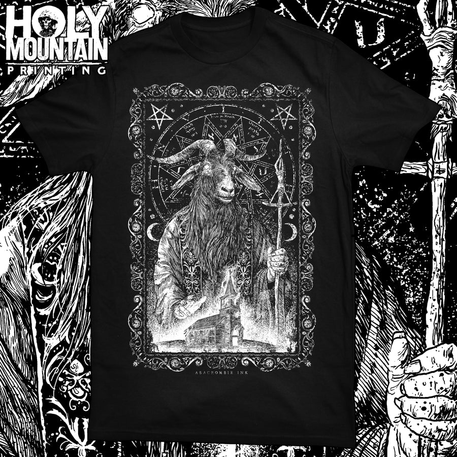 "ABACROMBIE INK ""BURNING CHURCH"" SHIRT"
