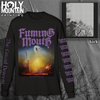 "FUMING MOUTH ""THE GRAND DESCENT"" BLACK LONG SLEEVE SHIRT"