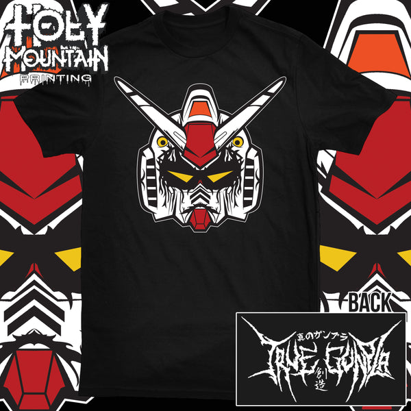 TRUE GUNPLA GUNDAM HEAD SHIRT