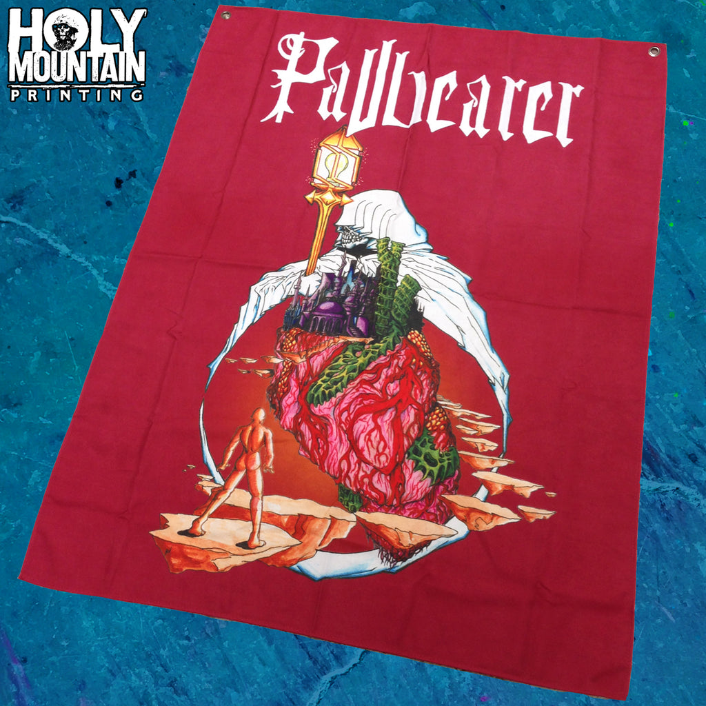 "PALLBEARER ""FOUNDATIONS OF BURDEN"" FLAG"