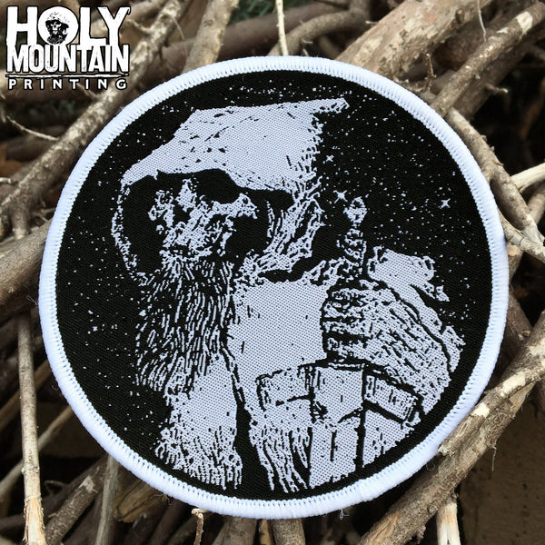HOLY MOUNTAIN PRINTING WOVEN PATCH