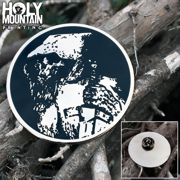 HOLY MOUNTAIN PRINTING METAL PIN