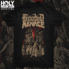 "HOODED MENACE ""CATHEDRAL OF LABYRINTHINE DARKNESS"" SHIRT"